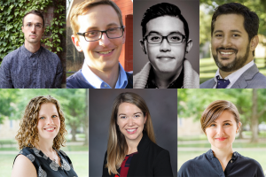 Collage of faculty headshots