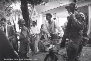 "Burt Glinn's ""Little Rock, Arkansas, 1957"""