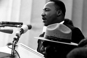 Martin Luther King Jr. speaks at March on Washington