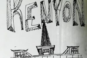 Sketch of Old Kenyon