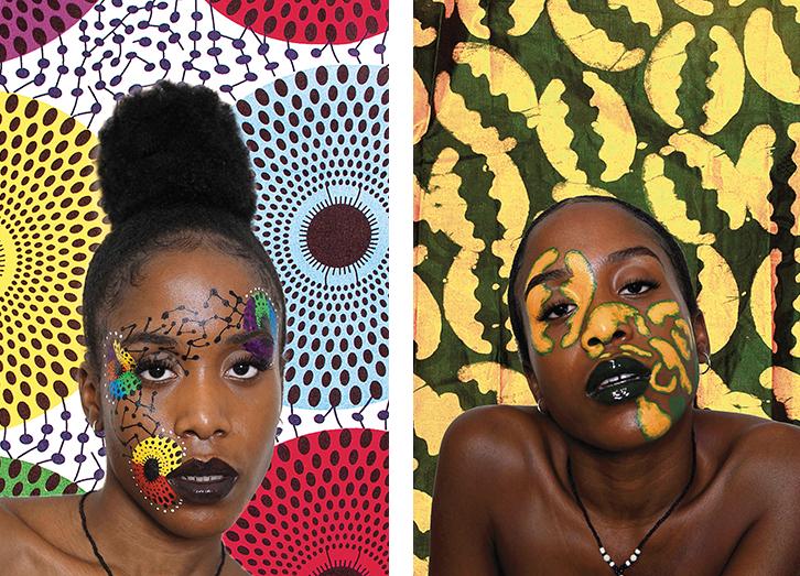 Two self portraits
